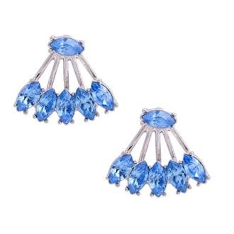 Peachick Earrings