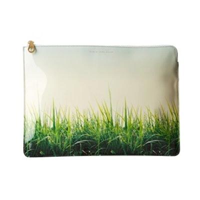 """Grass is Always Greener 13"""" Zip Case"""
