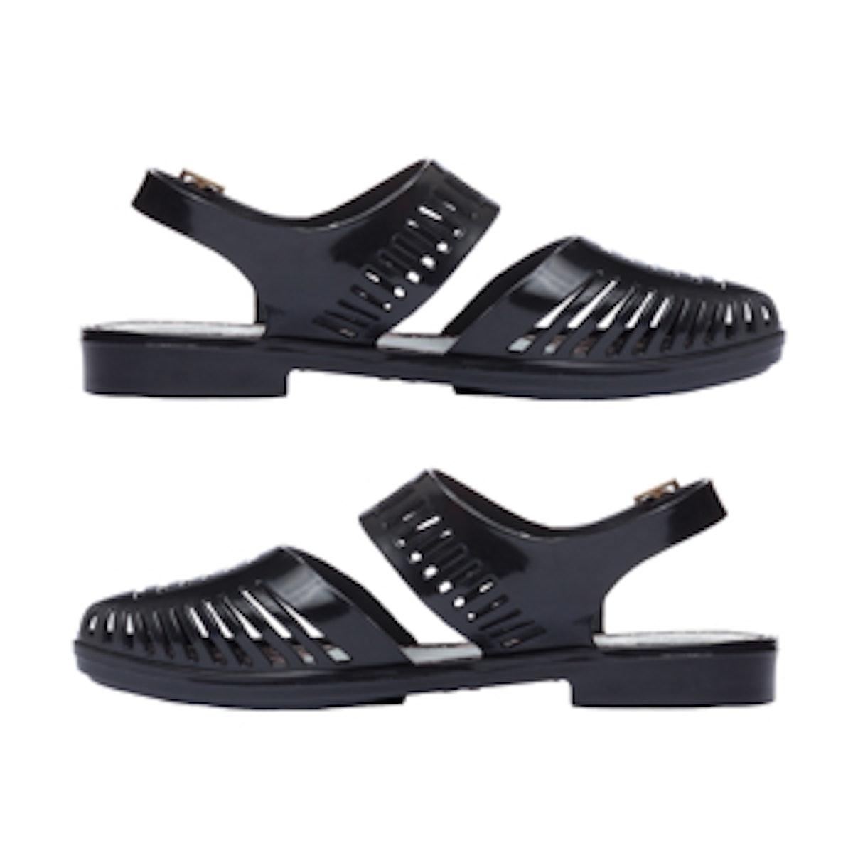 Magda Flats in Black