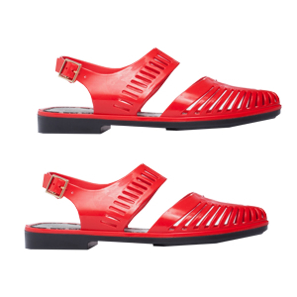 Magda Flats in Red