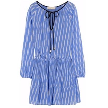Printed Georgette Mini Dress
