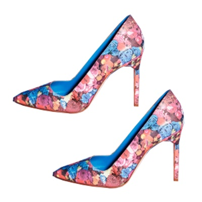 Royal Composition Manolo Blahnik Pumps