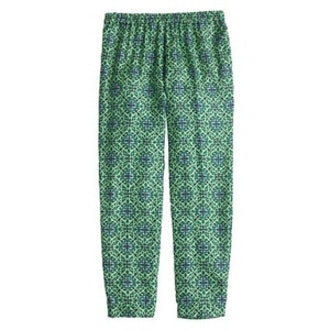 Cropped Pant in Medallion Floral