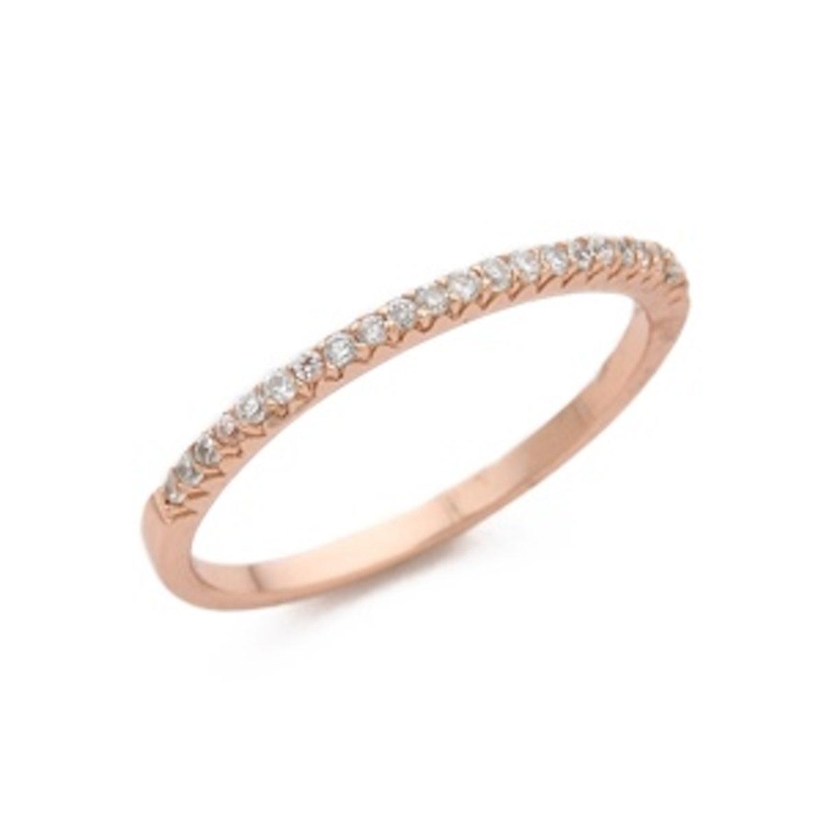 CZ Bar Ring
