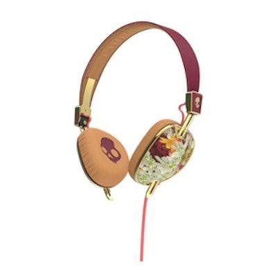 Knockout Floral Headphones
