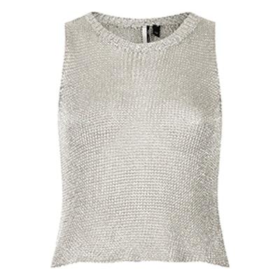 Metal Yarn Vest