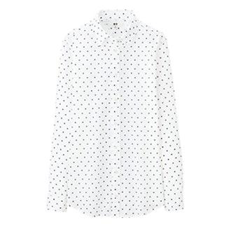 Long Sleeve Polka Shirt