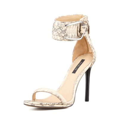 Melina Snakeskin Sandals