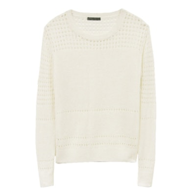 Shannon Pointelle Sweater