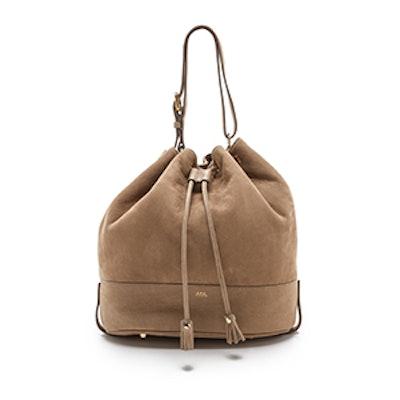 Taupe Bucket Bag