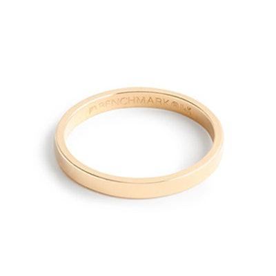 BRVTVS Thin 14k Gold Ring