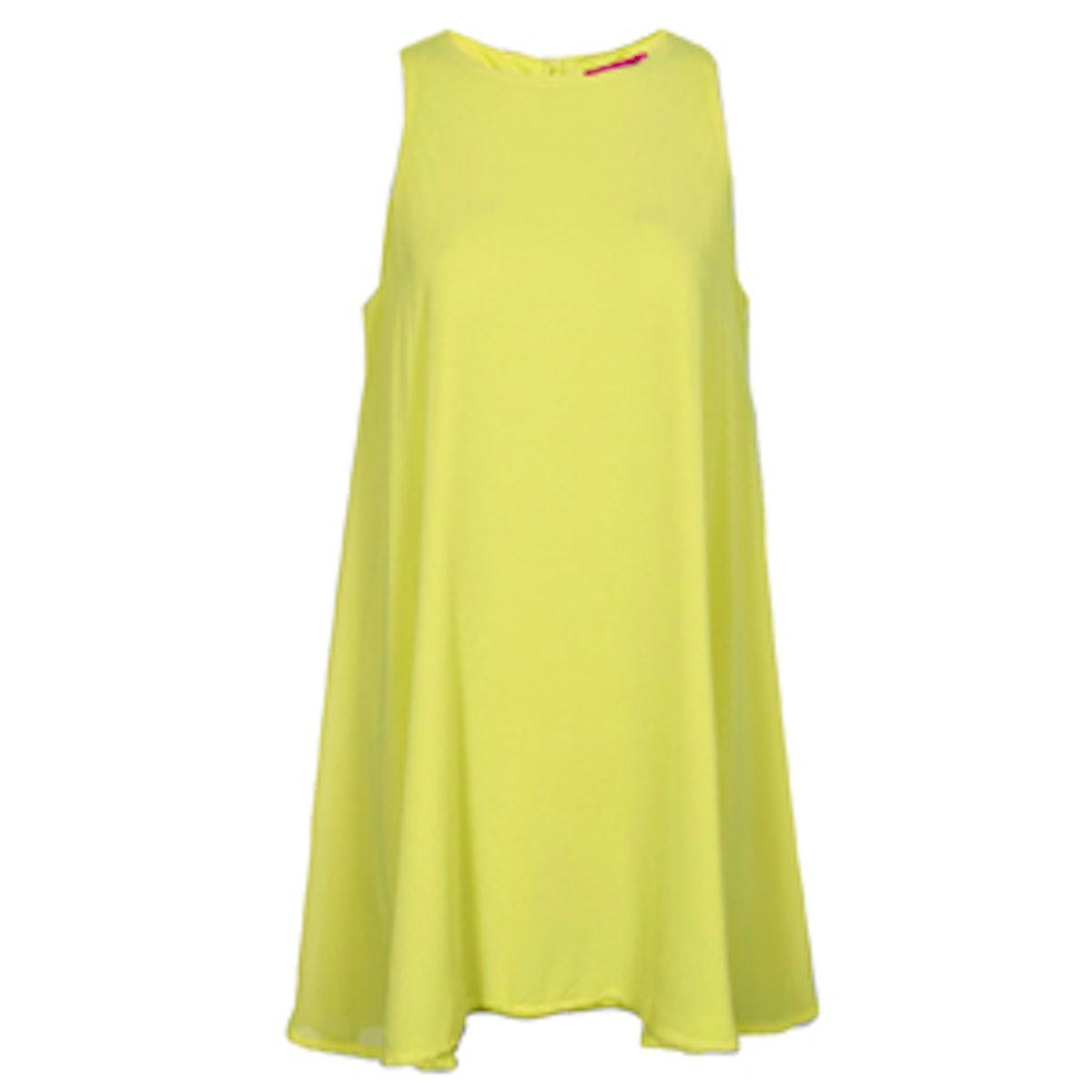 Sleeveless Chiffon Swing Dress
