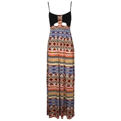 Naila Tribal Maxi Dress