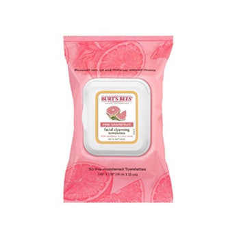 Facial Cleansing Wipes in Pink Grapefruit