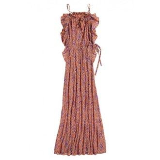 Ardelle Printed Halter Maxi Dress