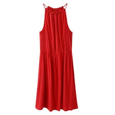 Western Style Suspender Dress