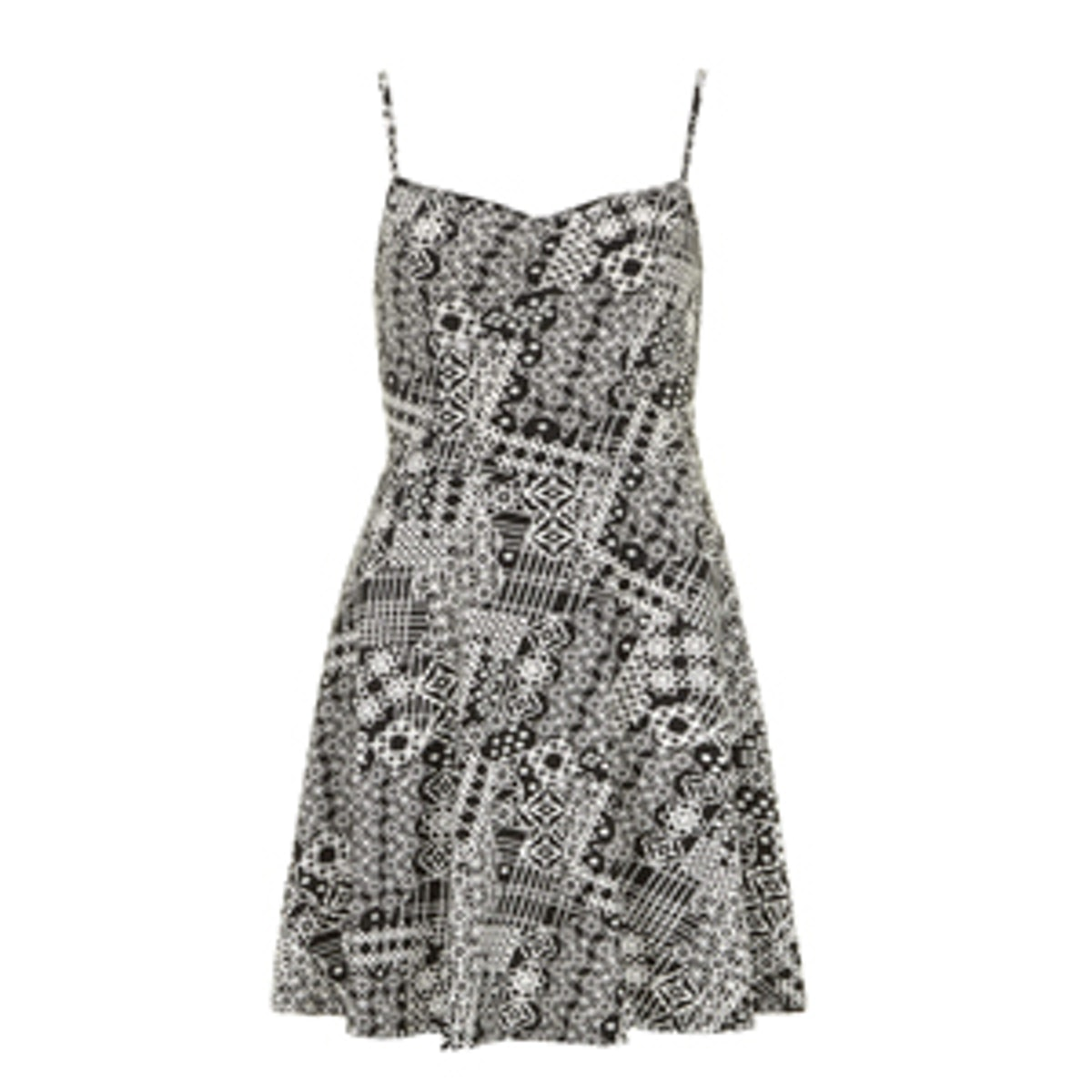 Tile Print Cami Dress