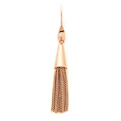 Small Chain Tassel Earrings