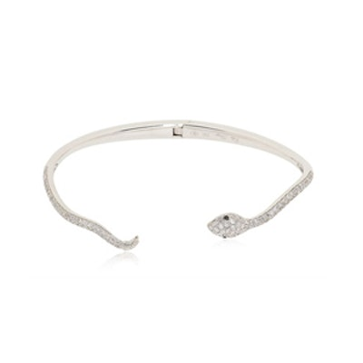 Diamond Studded Snake Bracelet