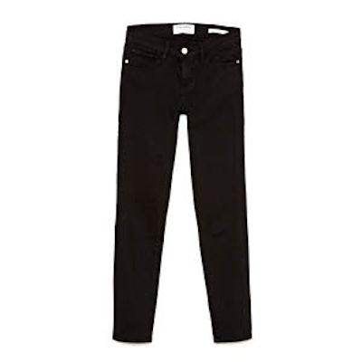 Black Cropped Jeans