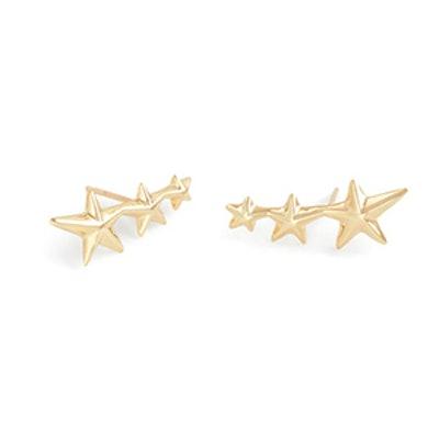 Gabriela Artigas 10K Gold Shooting Star Earrings