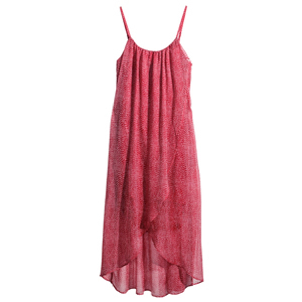 Chiffon Dress in Red