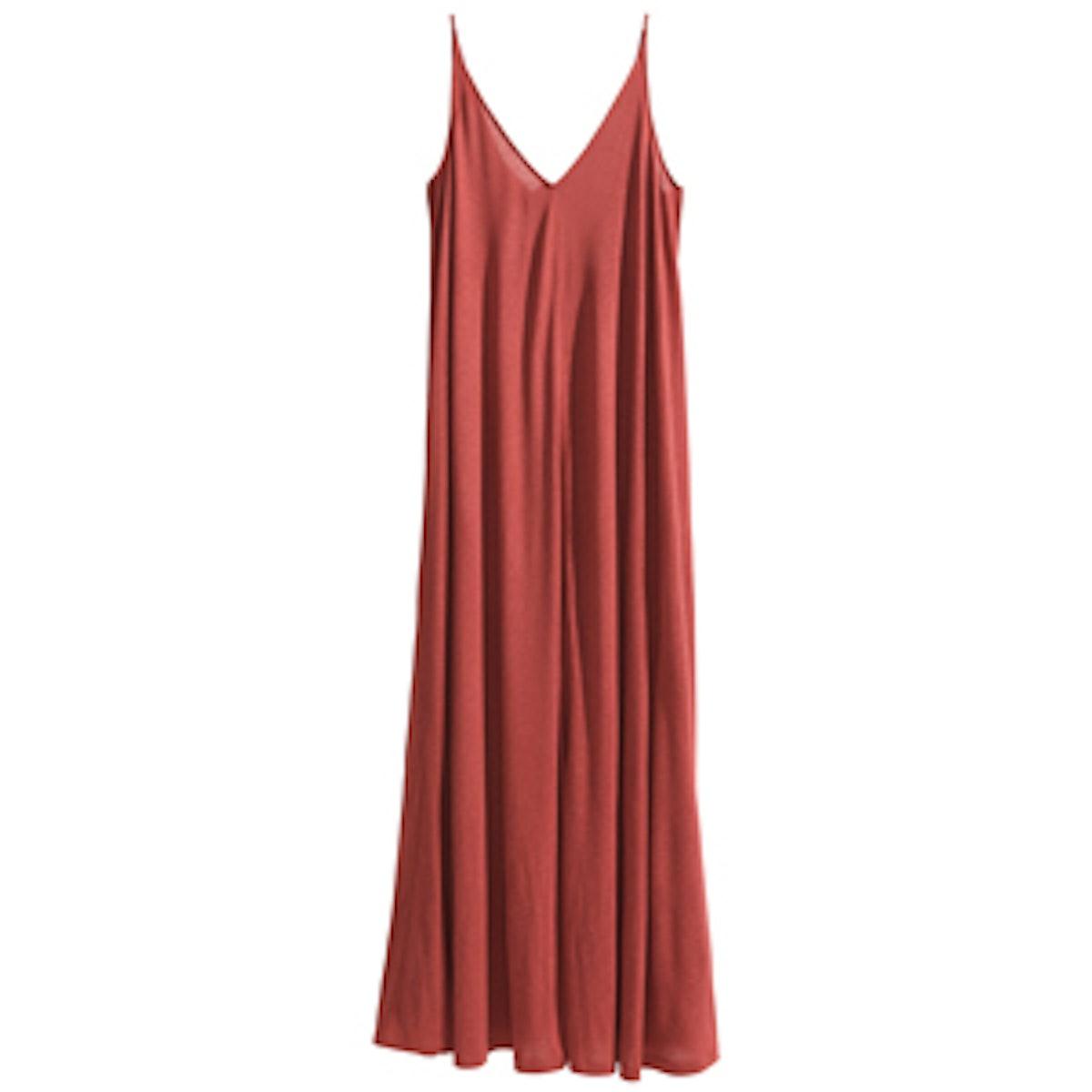 Wide Cut Maxi Dress