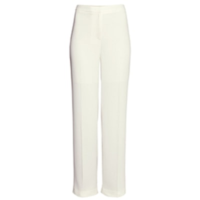 White Wide Leg Pants