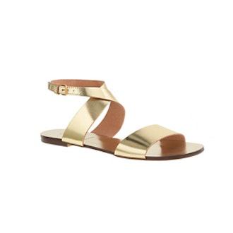 Callie Metallic Sandals