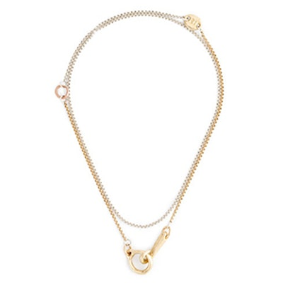 James Colarusso Hook And Eye Necklace