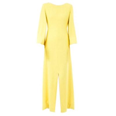 Long Yellow Dress Circa 1960