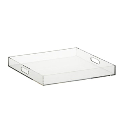 Lucite Format Tray