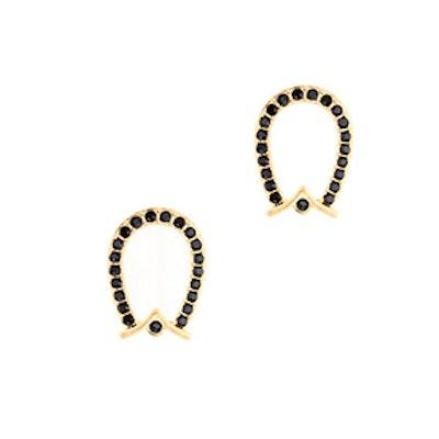 Lulu Frost Equine Stud Earrings