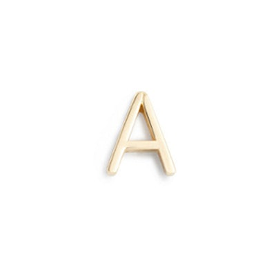 Maya Brenner Letter Earrings