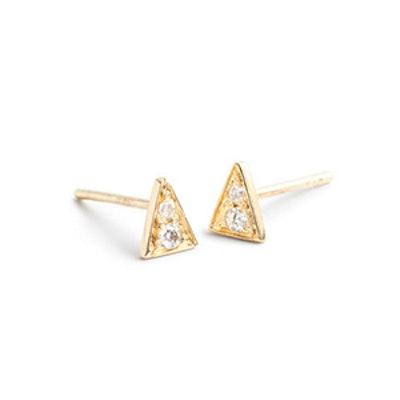 Mociun Triangle Studs
