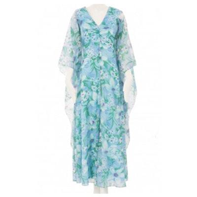 Floral Print Dress Circa 1970