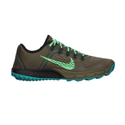 Zoom Terra Kiger in Dark Chino and Turbo Green