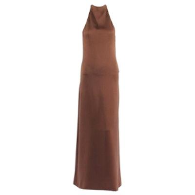 Haute Couture Halter Dress Circa 1967