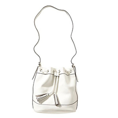 Bucket Bag in White