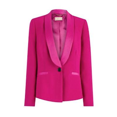 Cerise Pink Tuxedo Jacket