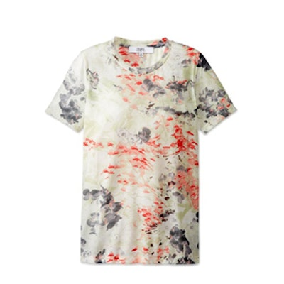 Orchid Print Tee