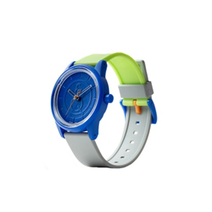 SmileSolar Series Green and Blue Combo Watch
