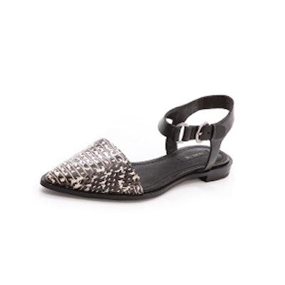 Iris Ankle Strap Flats