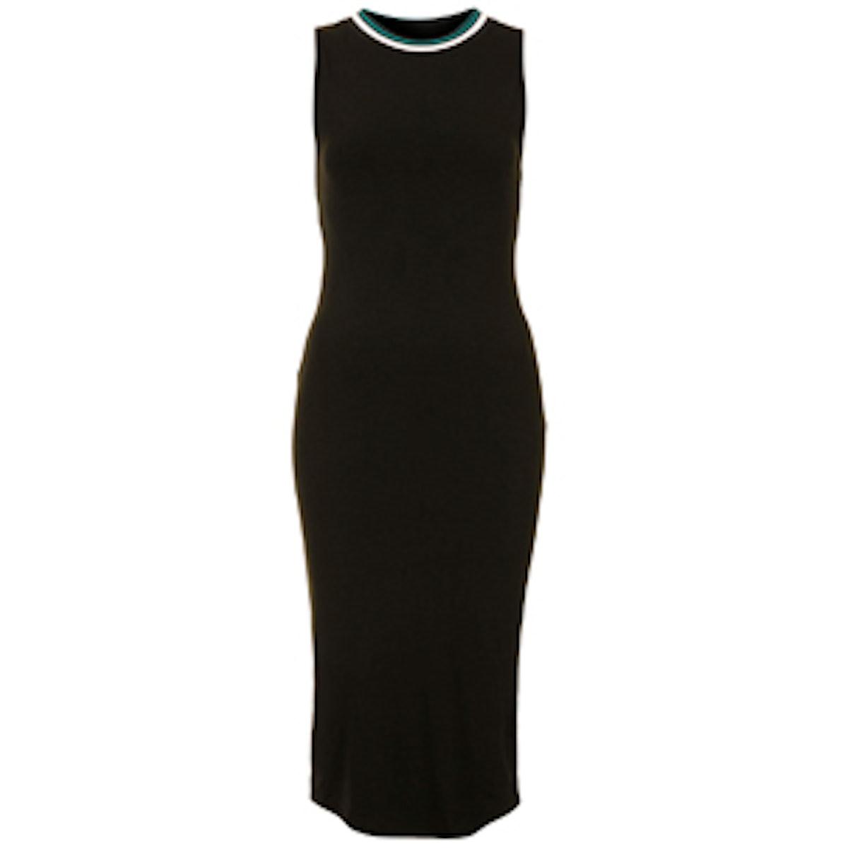 Sporty Jersey Midi Dress