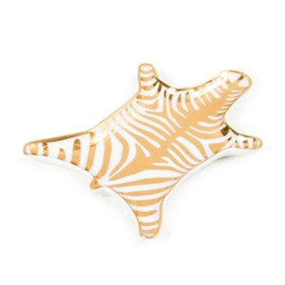 Gold Carnaby Zebra Stacking Dish