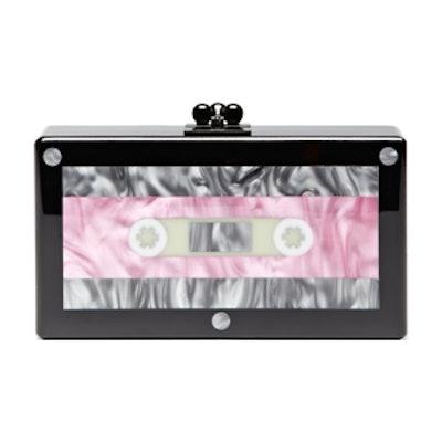 Jean Cassette Perspex Clutch