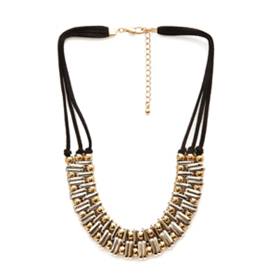 Beaded Cord Necklace