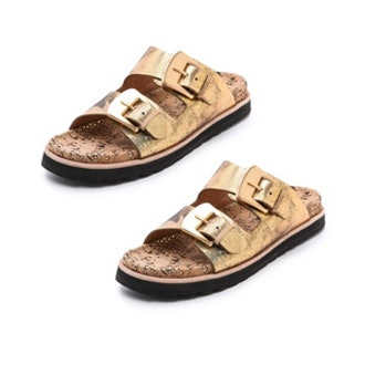 Fawn Two Band Flat Sandals