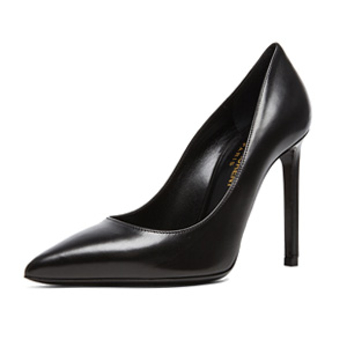 Leather Pumps In Black