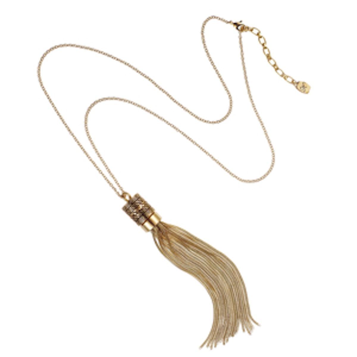 Chain Tassle Necklace